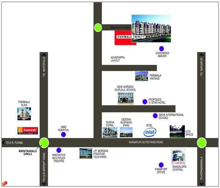 shriram shivaranjani apartments project location image1