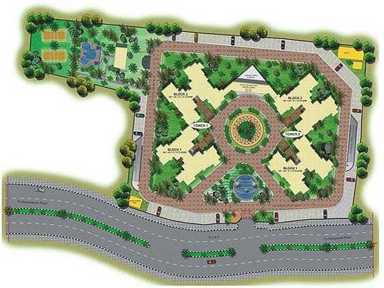 shriram symphonye project master plan image1