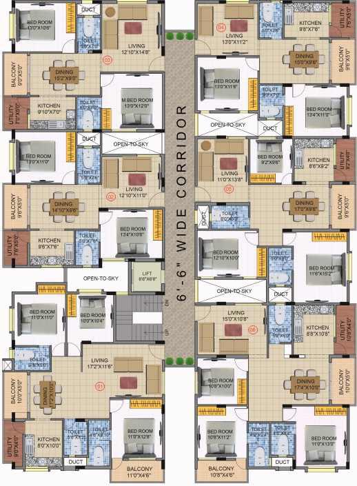 shubham avasa project master plan image1