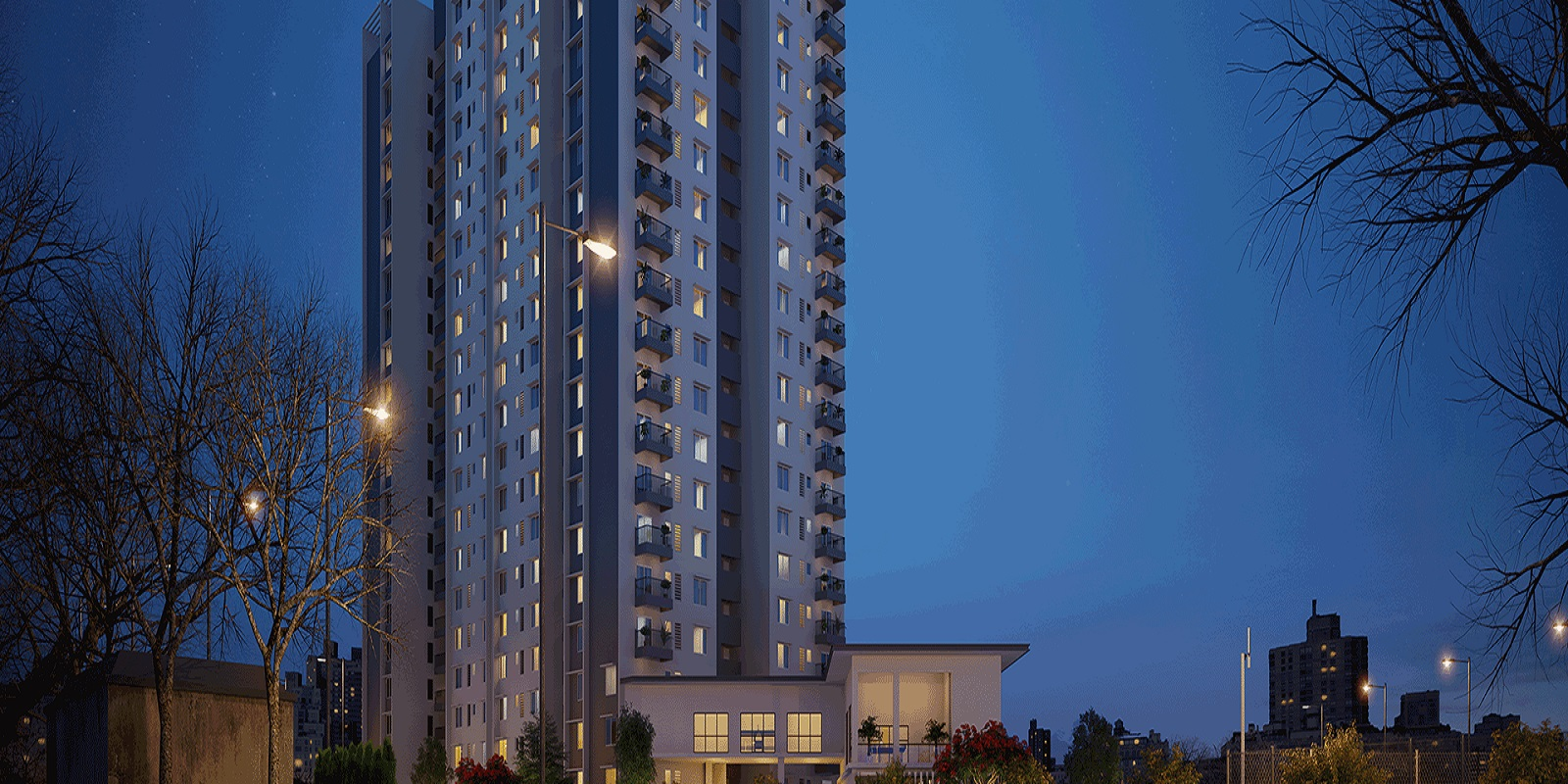 sobha avenue project tower view4