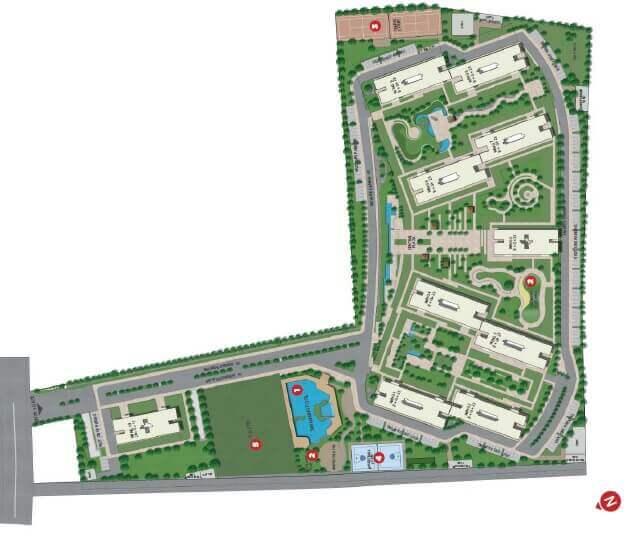 sobha dream gardens master plan image1