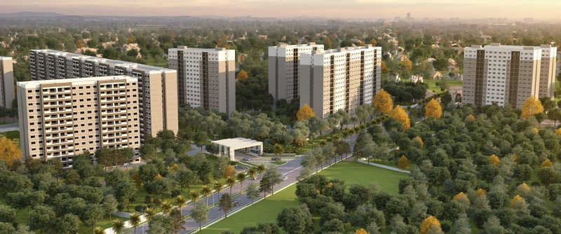 sobha dreams 1 project tower view1