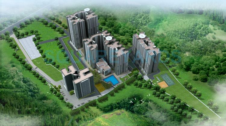 sobha forest view tower view1