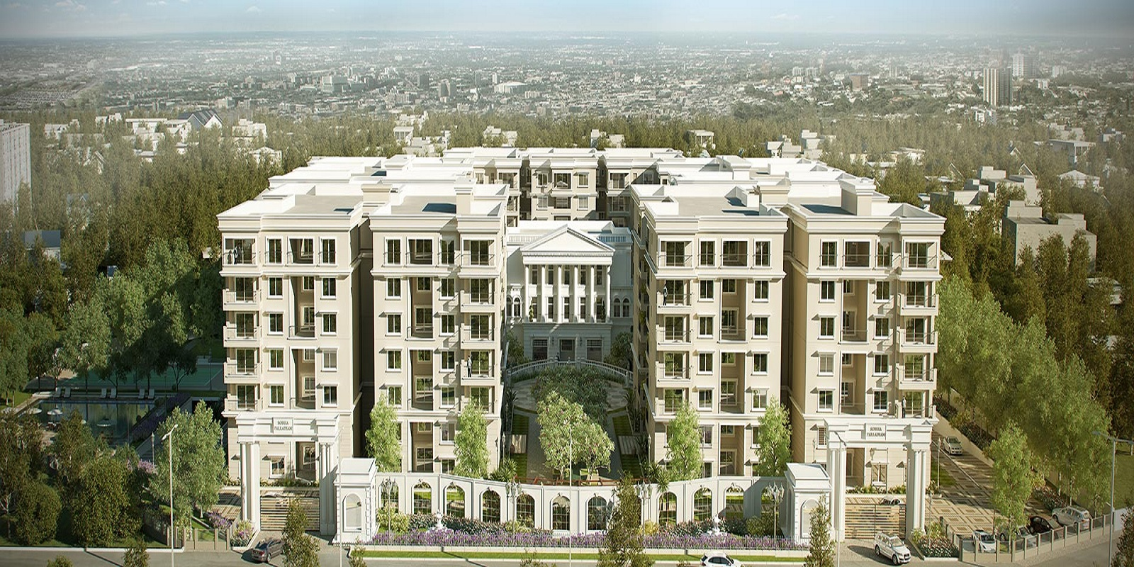 sobha palladian project tower view5