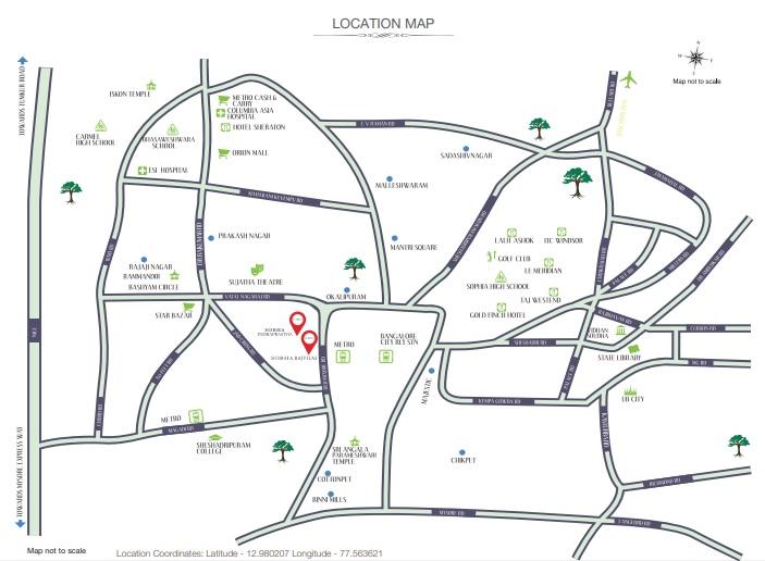 sobha rajvilas location image5