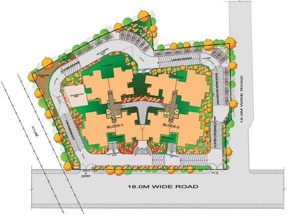 sobha suncrest project master plan image1