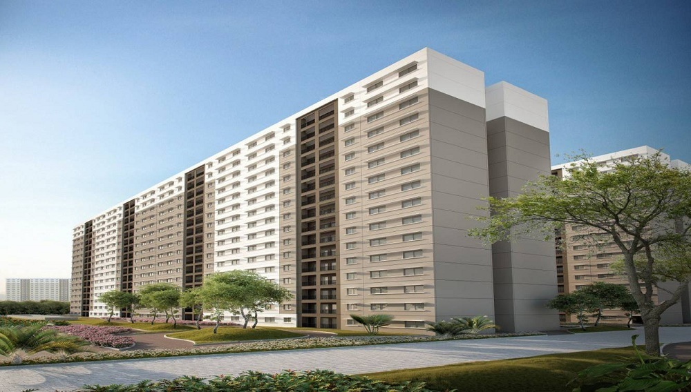 sobha tropical greens phase 23 wing 25 to 28 tower view10