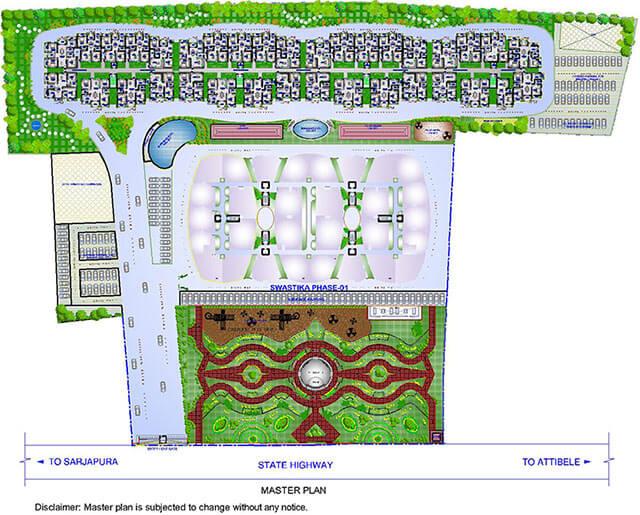 sowparnika swastika 2 master plan image1