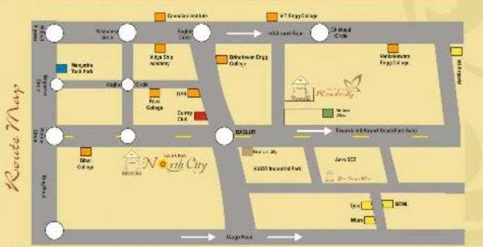 sri durga north city phase ii project location image1