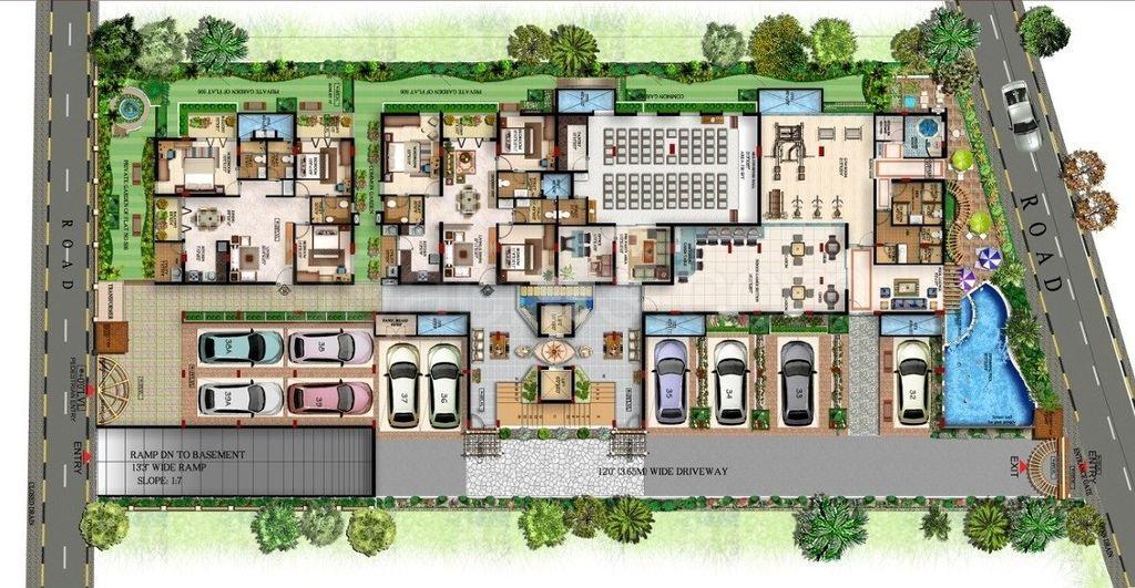 sterling residency master plan image2