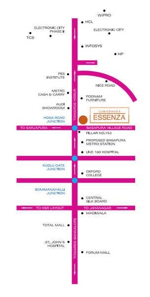 sumadhura essenza project location image1