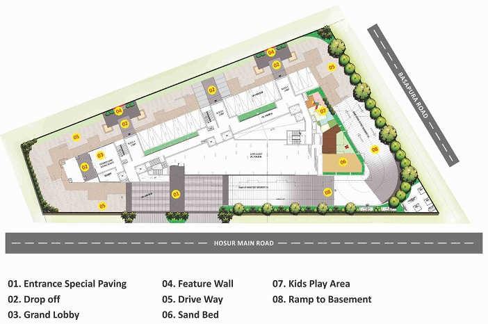 sumadhura essenza project master plan image1