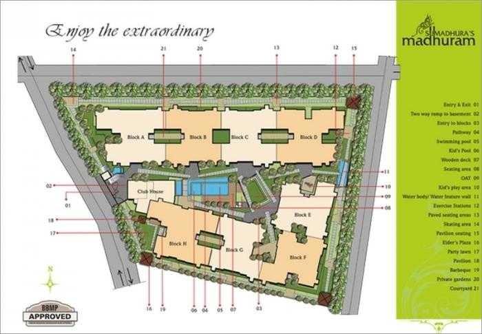 sumadhura madhuram master plan image3
