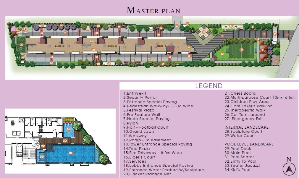 sumadhura nandanam master plan image1