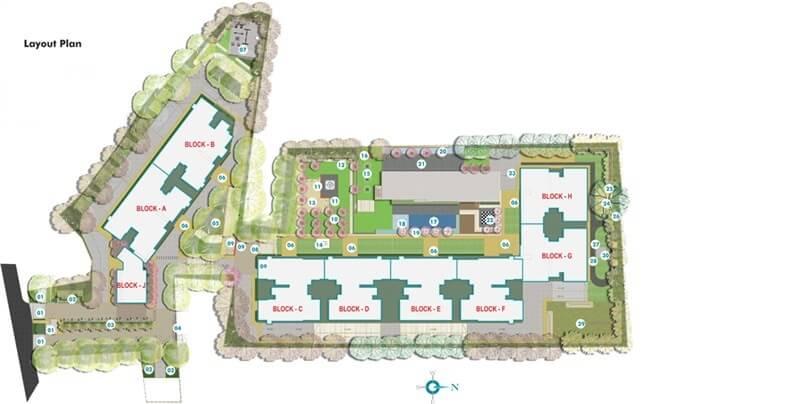 sumadhura silver ripples master plan image1