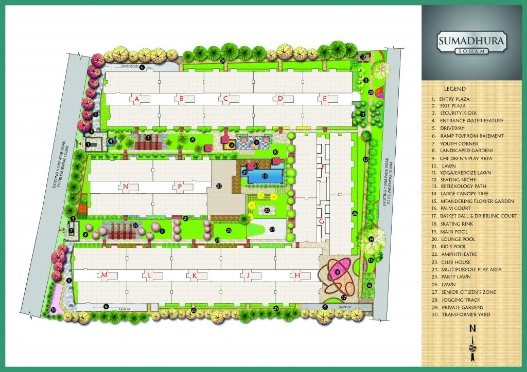 sumadhura soham phase 2 master plan image6