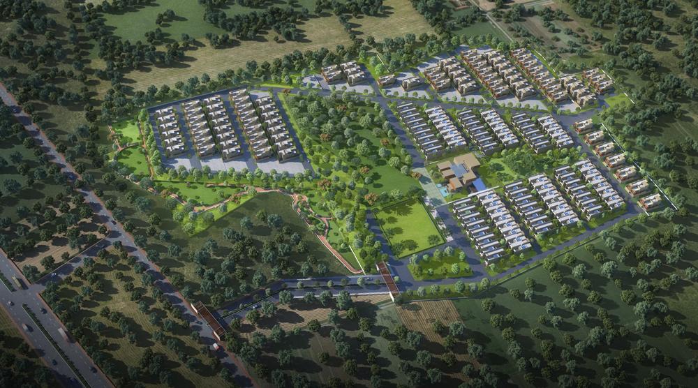 svamitva wellness city project master plan image1