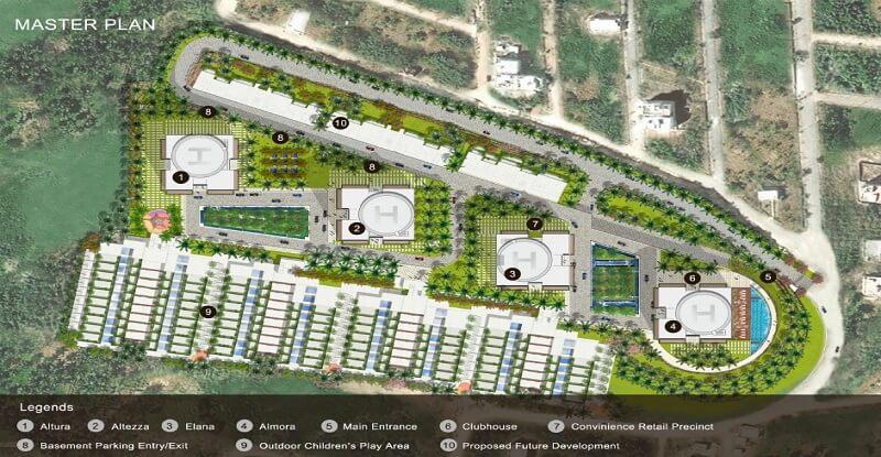 tata the promont master plan image1