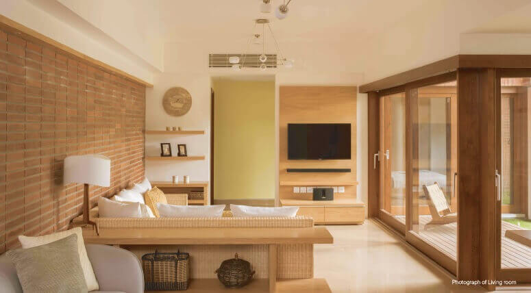 total environment in that quiet earth apartment interiors5