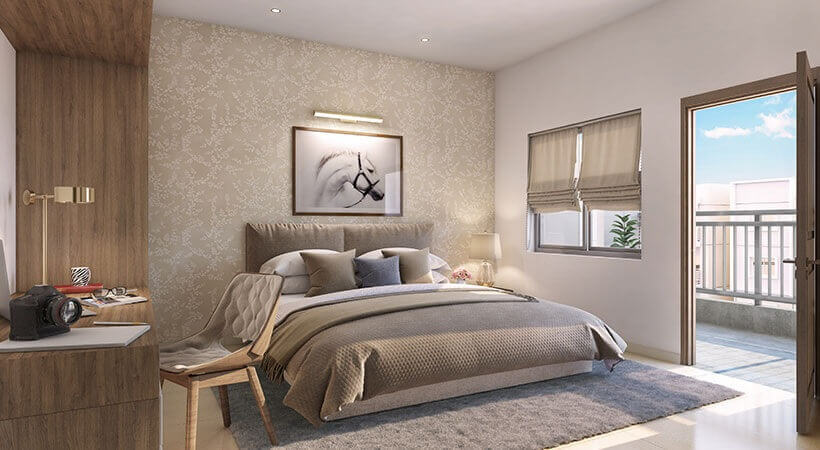 vaishnavi serene apartment interiors1