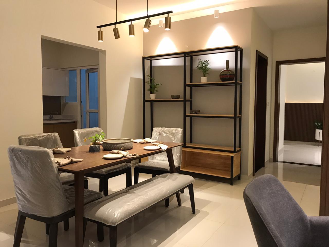 vajram newtown project apartment interiors1