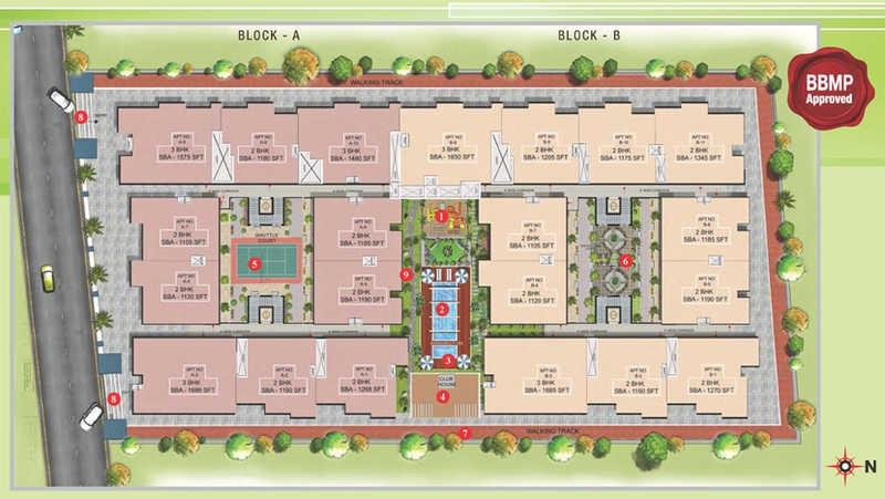 valueprop bhavya serene master plan image4
