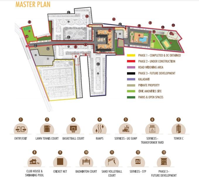 vbhc palmhaven ii project master plan image1