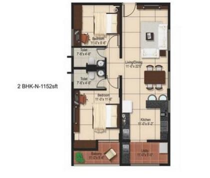 aashrayaa onyx apartment 2bhk 1152sqft21