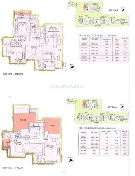 ajmera green acres apartment 4bhk 1977sqft1