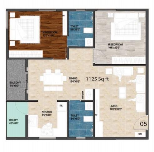aloki quanta apartment 2bhk 1125sqft11