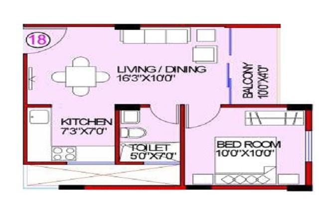ashish green phase i apartment 1bhk 540sqft01
