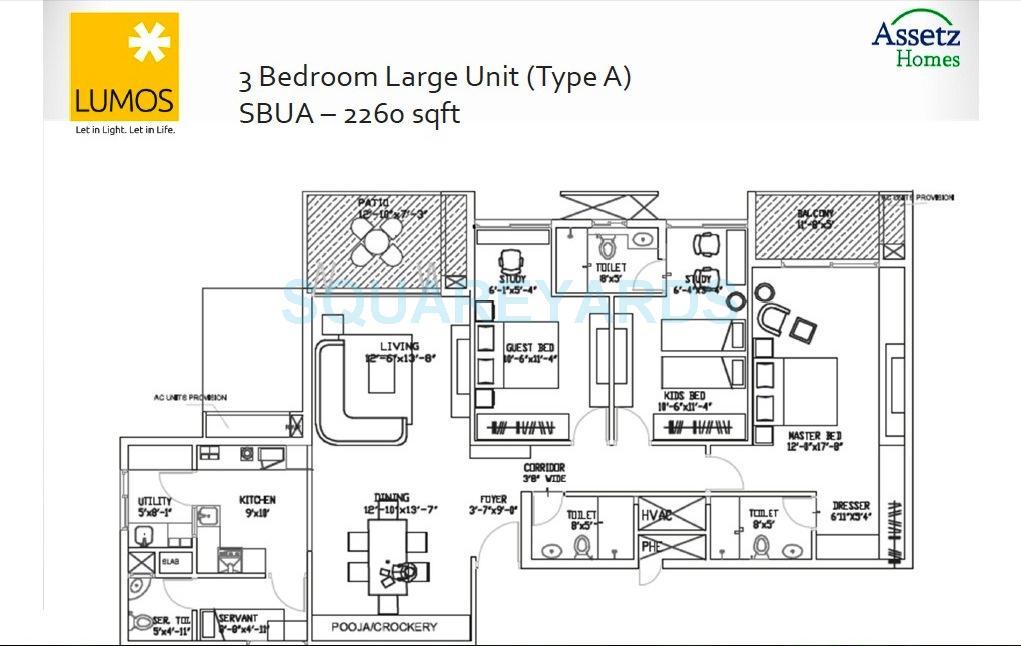 assetz homes lumos apartment 3bhk 2260sqft1