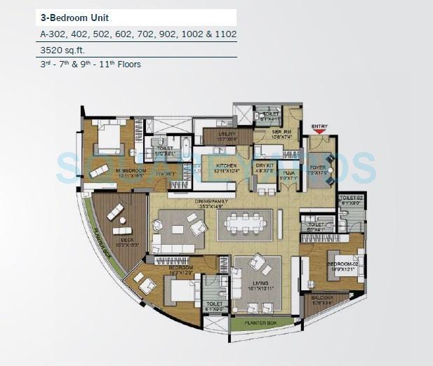 brigade caladium apartment 3bhk 3520sqft1