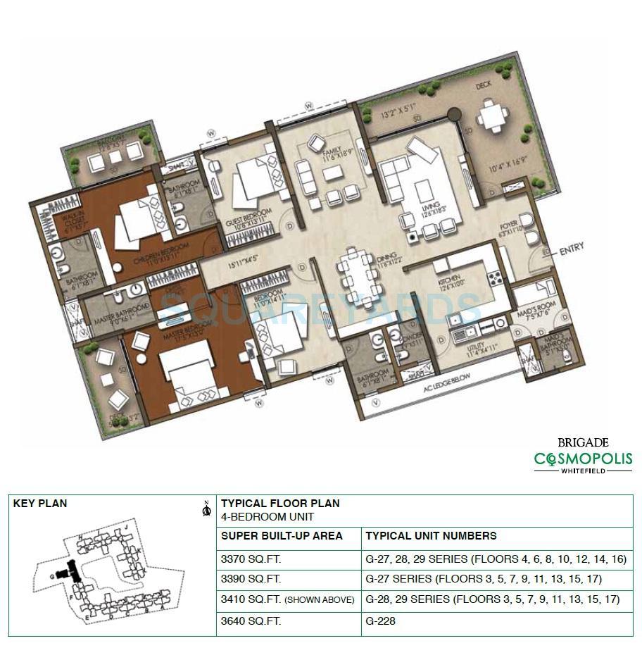 brigade cosmopolis apartment 4bhk 3640sqft1