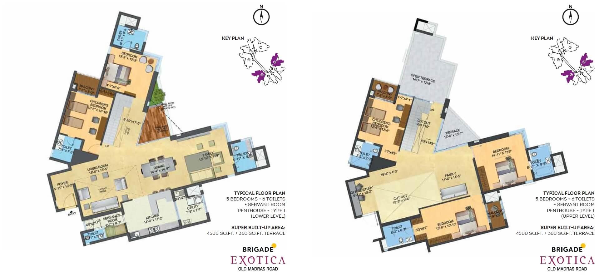 brigade exotica penthouse 5bhk sq 4500sqft 1