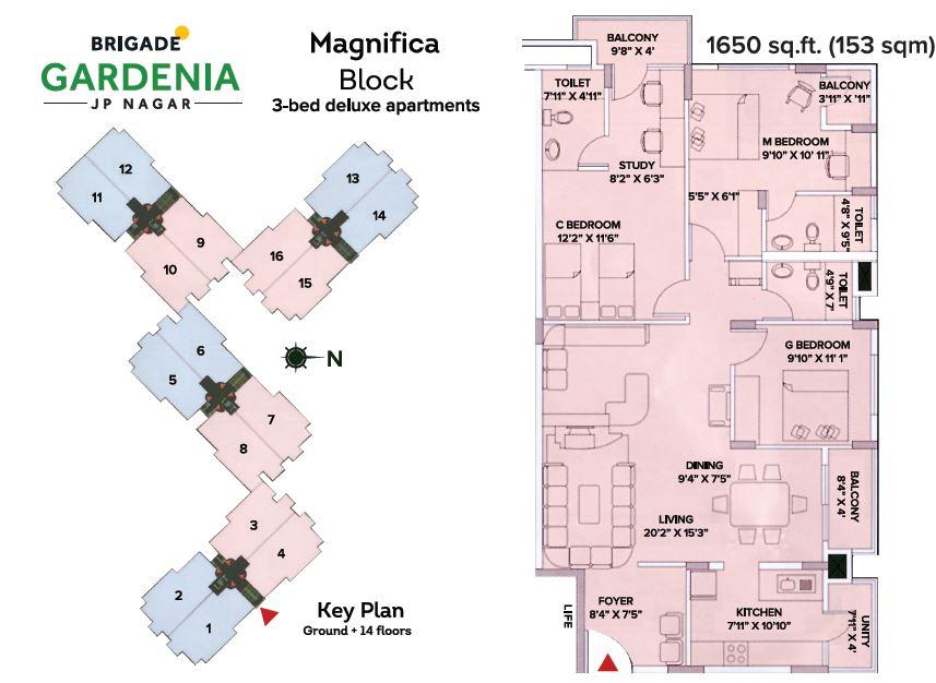 brigade gardenia apartment 3bhk 1650sqft 20201727131718