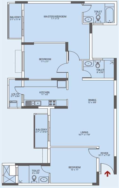 brigade gateway enclave apartment 3bhk 1720sqft 20201929111926