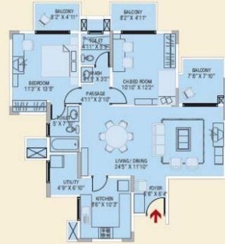 brigade metropolis apartment 2 bhk 1310sqft 20214905124926