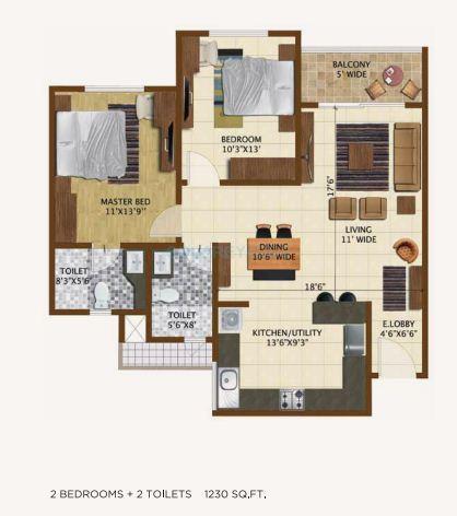 brigade northridge apartment 2 bhk 1230sqft 20201418101424