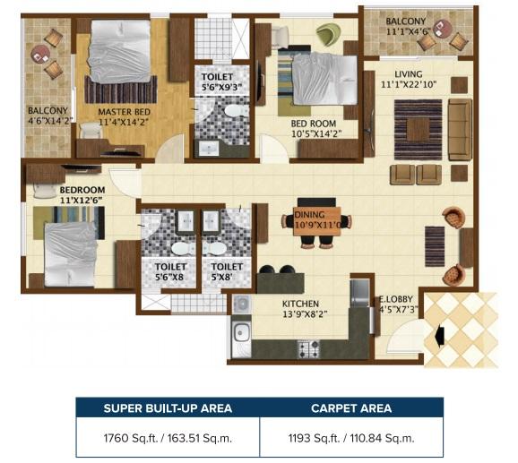 brigade northridge apartment 3 bhk 1760sqft 20201718101701