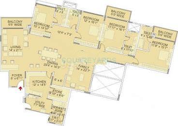 brigade petunia apartment 3bhk 3350sqft1