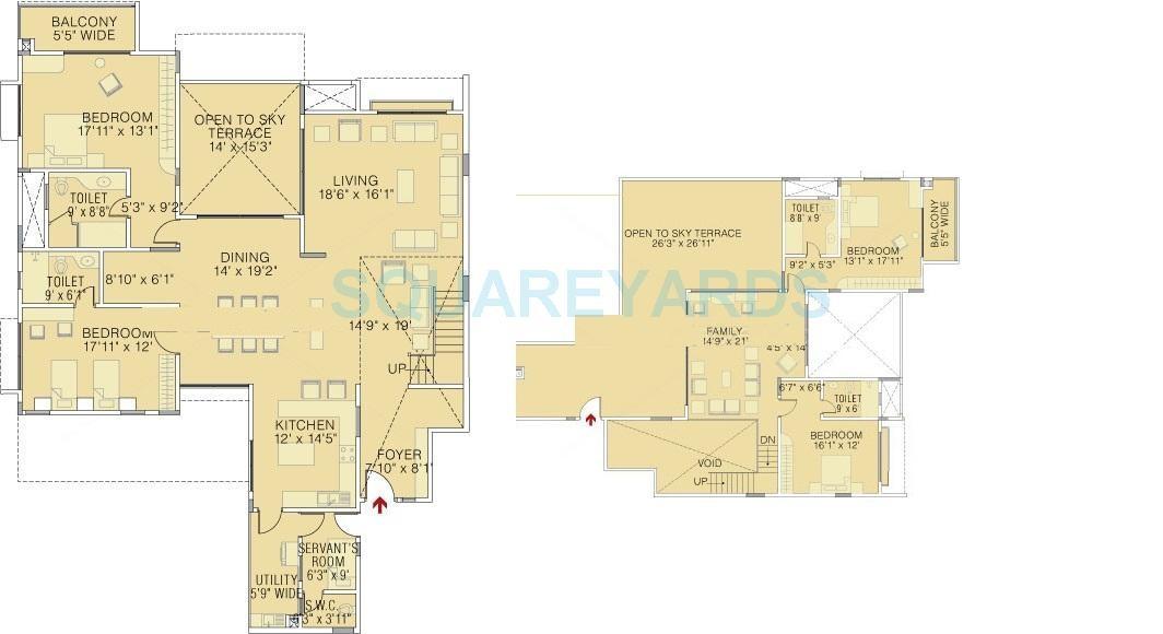 brigade petunia apartment 4 bhk 3900sqft 20213809153828
