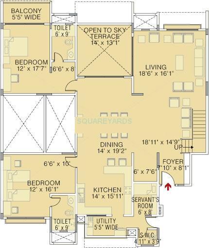 brigade petunia apartment 4bhk 4400sqft1