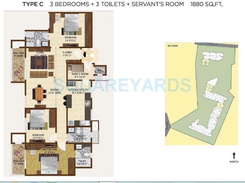 brigade vintage apartment 3bhk 4000sqft1