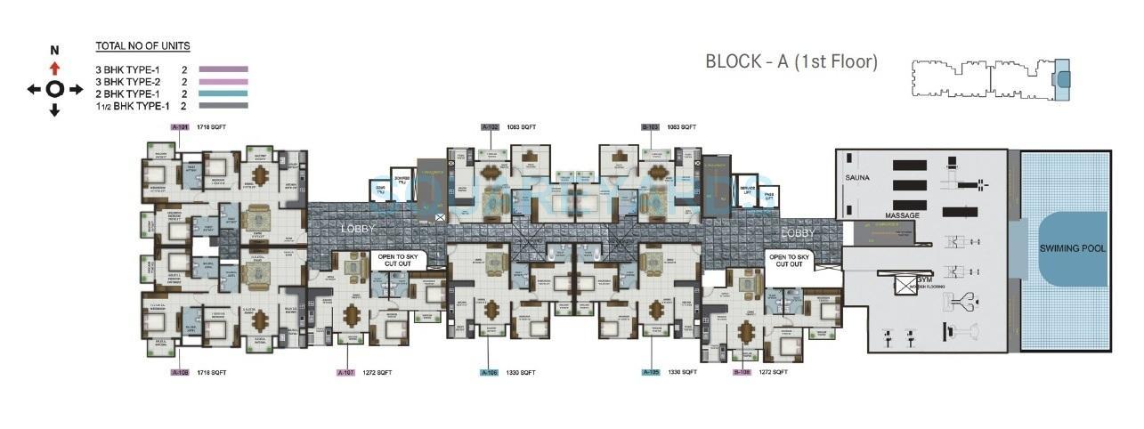 century century celeste apartment 1bhk 1083sqft1