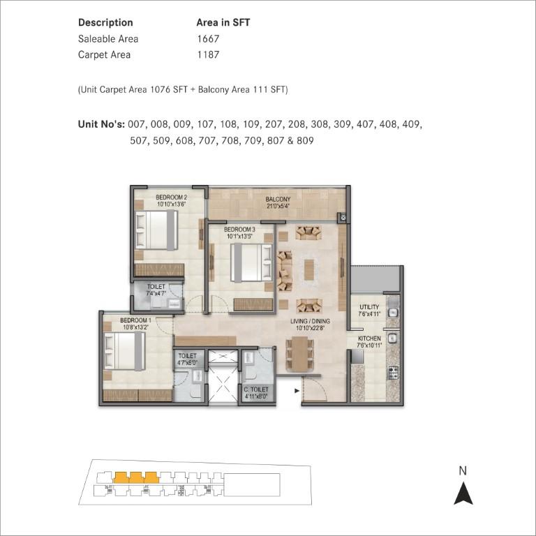 century horizon apartment 3 bhk 1667sqft 20204603204647