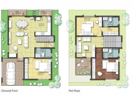 citrus casa greens bangalore villa 3 bhk 2277sqft 20204028154041