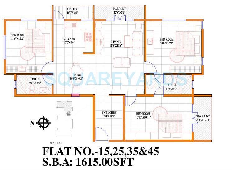 concorde livingston apartment 3bhk 1615sqft1