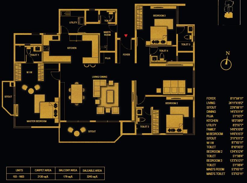 concorde luxepolis apartment 3bhk sq 3245sqft 1