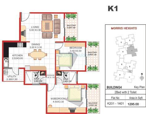 concorde manhattans apartment 2bhk 1295sqft1